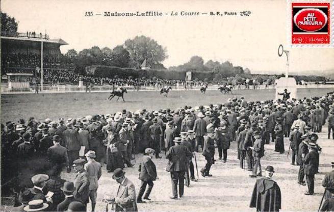 Maisons-Laffitte, la course.