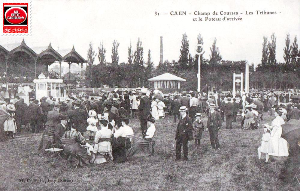 Caen, le champ de courses.