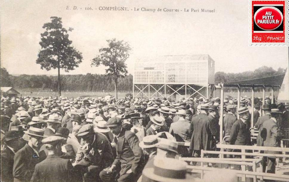 COMPIEGNE- Le Champ de Courses et le Pari-Mutuel.