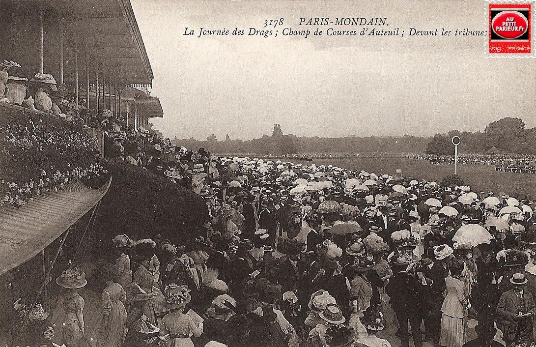 Auteuil, le champ de course.