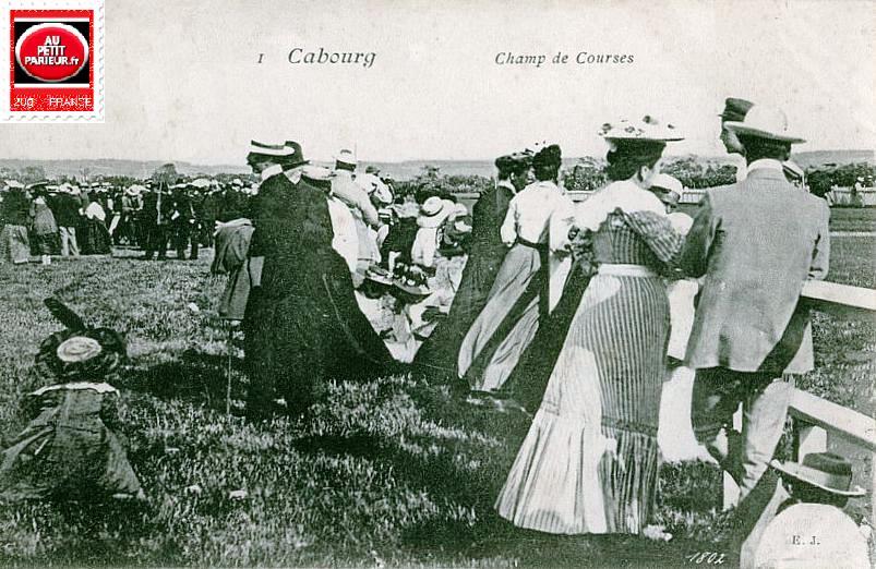 Cabourg, le champ de courses.