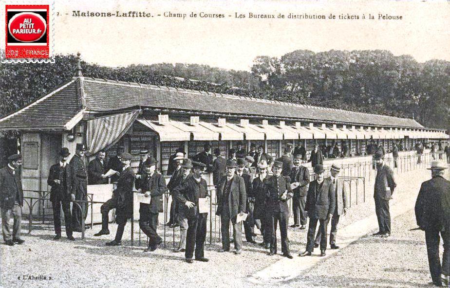 Maisons-Laffitte, le PRIX DE LA FORET DE SAINT-GERMAIN.