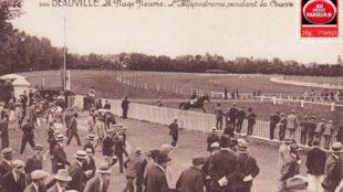 Deauville, l'hippodrome.