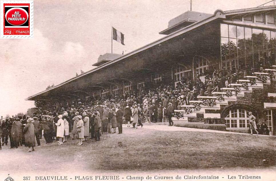 Clairefontaine, les tribunes.
