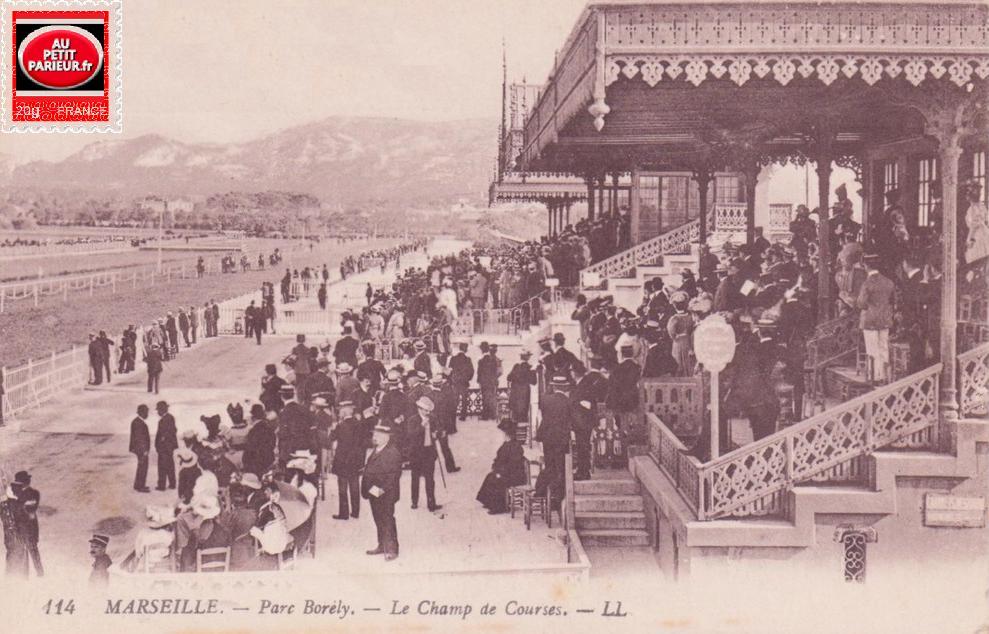 Marseille-Borély, le champ de courses.