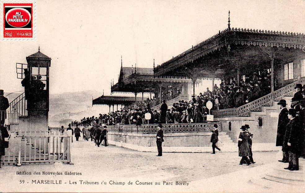 Marseille-Borély, les tribunes du champ de courses.