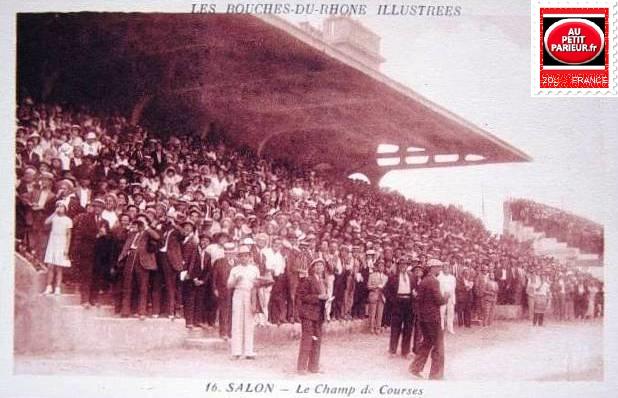 Salon de Provence, le champ de courses.