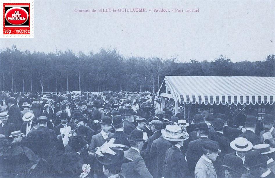 Sillé Le Guillaume, Paddock et Pari Mutuel.