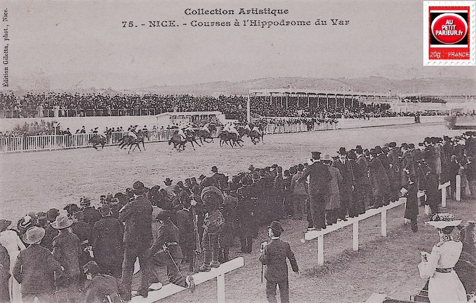 Nice, Courses sur l'hippodrome du Var.