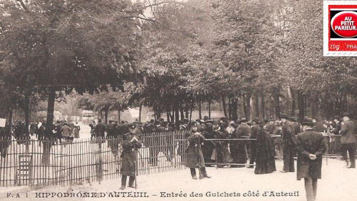 Auteuil-Entrée des guichets de l'Hippodrome