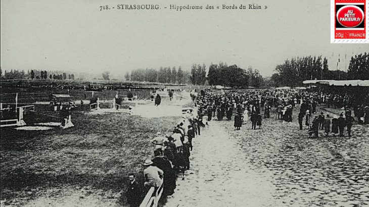 Strasbourg, hippodrome des bords du Rhin.