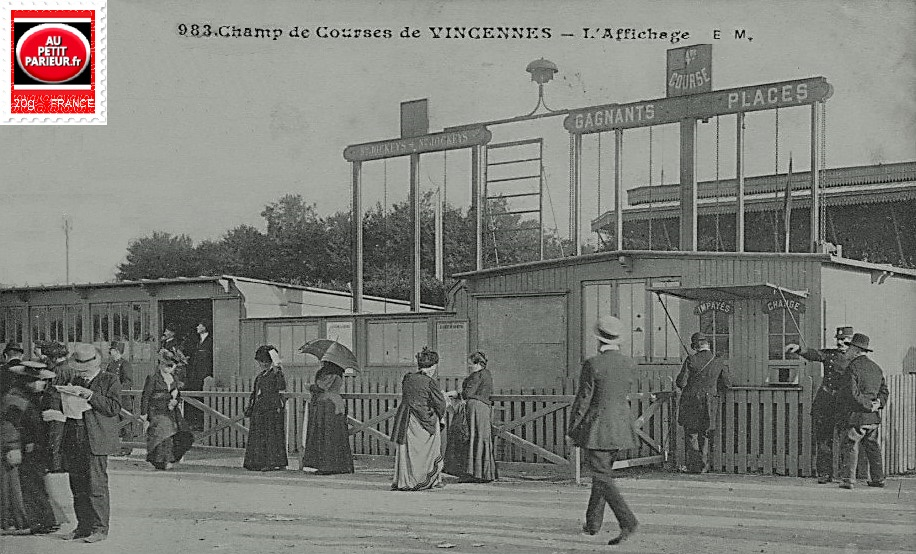Vincennes, PRIX DE SAINT-JAMES -(PRIX MICHEL THOURY)