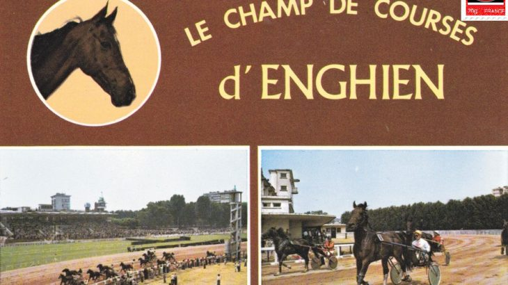 Enghien, champ de courses